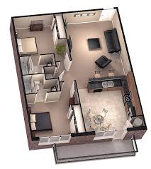 Small 3 Bedroom House Floor Plans by 2 Bedroom House Plans 3d Google Search House Plans Pinterest