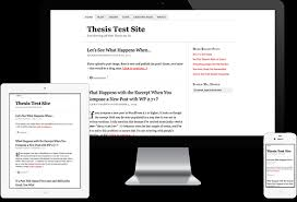 Thesis Classic Responsive Skin device views