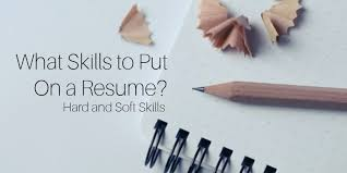 what skills to put on a resume   examples Uptowork