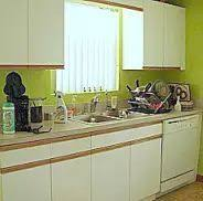 Refinishing Kitchen Cabinets Easy And Affordable Kitchen Makeover Update 80s Laminate
