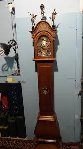 Grandmother Clock 39534 Chimes Warmink Oak Grandfather Clock Youtube