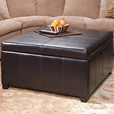 Large Storage Ottoman Coffee Table by Ottoman Coffee Table Ebay