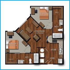 2 Bedroom 1 Bath Floor Plans College Station Two Bedroom Apartments Northpoint Crossing