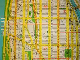 Street Map Of New York City by New York City Manhattan Harlem Mapsofnet Best 25 Map Of Manhattan