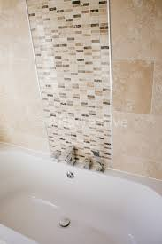 Mosaic Bathroom Tile by Enchanting Mosaic Tile Feature Wall Bathroom With Home Interior