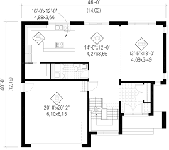 Contemporary Style House Plans Contemporary Style House Plan 3 Beds 2 00 Baths 2329 Sq Ft Plan