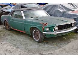 1969 Mustang Black Jade 1969 Ford Mustang For Sale Classiccars Com Cc 508447