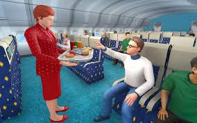 Sexinsex 国际航班的空姐|