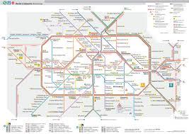 Metro Lines Map by Map Of Berlin Subway Underground U0026 Tube U Bahn Stations U0026 Lines