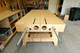 Plans For Building A Wooden Workbench by The Ultimate Work Bench Thisiscarpentry