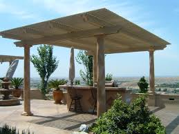 Simple Covered Patio Designs by Patio Blueprints