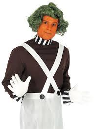 halloween mens wigs mens oompa loompa costume umpa lumpa fancy dress halloween