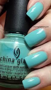 my nail polish diary china glaze for audrey