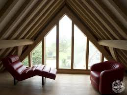 timber frame loft conversion with glazed gable end by carpenter timber frame loft conversion with glazed gable end by carpenter oak ltd