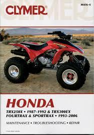 100 2001 honda trx rubicon maintenence manual amazon com