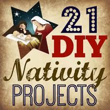 21 diy nativity projects