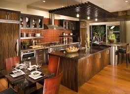 Modern European Kitchen Cabinets Interior European Kitchen Design Of Kitchen Island With Breakfast
