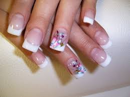 the french manicure nail art nail art pinterest french