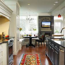 Eat In Kitchen eat in kitchen table ideas black marble countertop feats glass