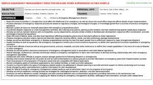 Sample Resume for Teachers II Blue Sky Resumes
