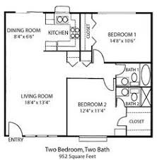 Floor Plan 2 Bedroom Apartment Best 25 2 Bedroom House Plans Ideas On Pinterest Small House