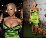 Amber Rose Nude Photos Busted