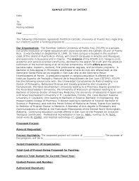 Letter Of Intent Layout  resume cover letter vs letter of intent     Resume Cover Letter Template