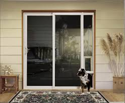 patio doors with pet door images glass door interior doors