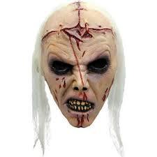 Undead Halloween Costumes Deluxe War Wwz Scream Zombie Corpse Undead Mask Halloween