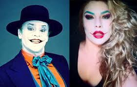 jack nicholson joker easy halloween makeup tutorial youtube