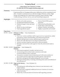 Example Resume  Writing Objectives For Resume  resort and hotel     lower ipnodns ru