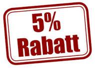 REA! Vi firar 1 års jubileum i webbshoppen! 5% rabatt på alla ordrar inkomna 7-10 maj!