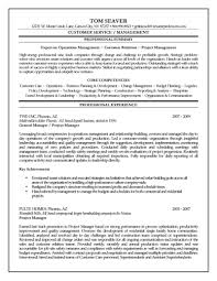 Sample Resume For Retail Manager by Sample Resume For Construction Site Supervisor Free Resume