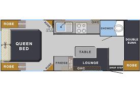 Caravan Floor Plan Layouts Elite Caravans Family Caravans