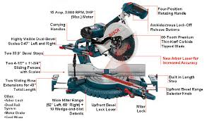 Bosch Table Saw Parts by Bosch 5412l 12 Inch Dual Bevel Slide Miter Saw With Laser Tracking