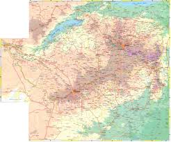 Physical Map Of Africa by Maps Of Zimbabwe Map Library Maps Of The World