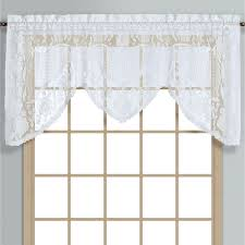 windsor lace swagger valance window treatment