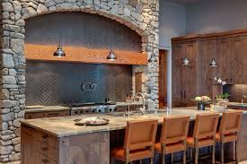 Rustic Kitchen Backsplash 100 Rock Kitchen Backsplash Champage Glass Subway Tile