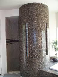 Shower Bathroom Designs by Bathroom Designs Using Glass Blocks Block Snail Shower Design