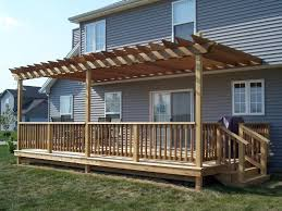 Small Pergola Kits by Vinyl Pergolas Attached To House This White Vinyl Pergola Kit
