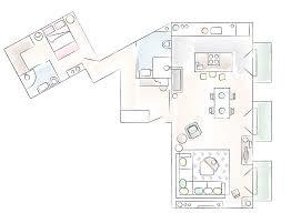 Ikea Apartment Floor Plan Libertad And Rober U0027s Smart Sociable Home In Madrid