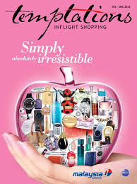 temptations catalogue for july december 2013 by malaysia airlines