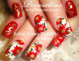 robin moses nail art christmas mouse