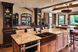 Rustic Kitchen Backsplash High Ceiling Natural Stone Wall Decors Rustic Kitchen Wall Mount