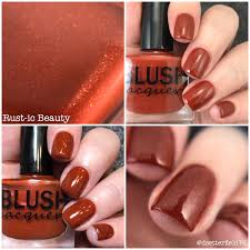 blush lacquers november releases snacks on rotation