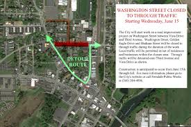 Washington Traffic Map by Traffic Revisions Planned To Accommodate Start Of City Of