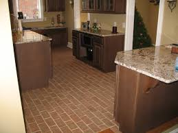 Pictures Of Kitchen Floor Tiles Ideas by Kitchens Inglenook Brick Tiles Thin Brick Flooring Brick