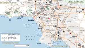 Los Angeles County Map by Maps Update 21051488 La Tourist Attractions Map U2013 Los Angeles