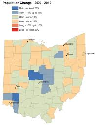 Toledo Ohio Zip Code Map by None Of The Five Fastest Growing Ohio Counties Are In Northeast