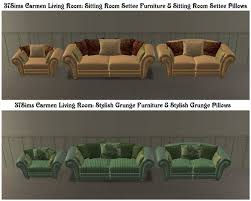 Living Room Settee Furniture by Mod The Sims 10